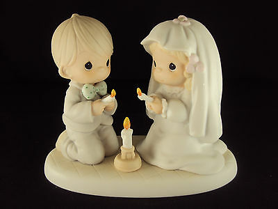 Precious Moments, 520837, The Lord Is Your Light To Happiness, Issued 1988