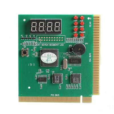 UN3F New Great 4-Digit PC Analyzer Diagnostic Card Motherboard Post Tester