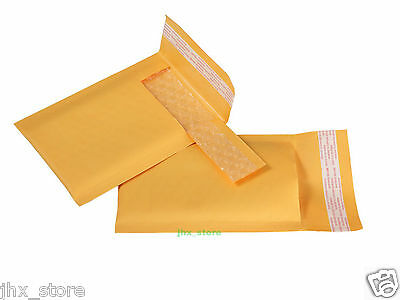 "35 PCS Kraft Bubble Mailers Small Padded Envelope USABLE SIZE 3"" x 6""_75 x 150mm"