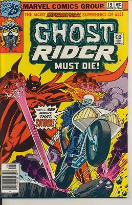Ghost Rider #19 Very Fine Minus VF- (7.5) Marvel Comics (1976)