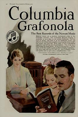 1919 Columbia Grafonola Ad / The Best Records Of The Newest Music....m-244