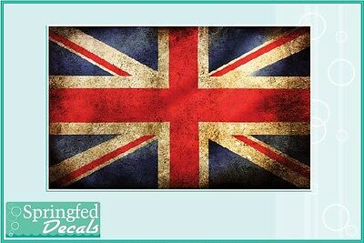 BRITISH FLAG #2 Vinyl Decal Car Sticker CUSTOM SIZES! Union Jack English England