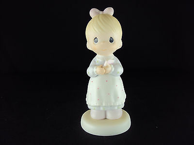 Precious Moments Figurine, 523453, The Good Lord Always Delivers,  Issued 1989