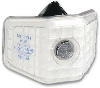 North 7190N99 Half Mask Welding Air Purifying Respirator (One N99 Filter)