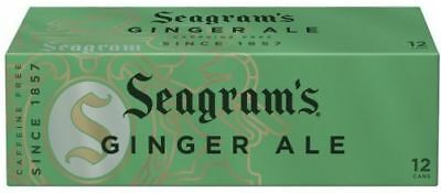 Seagram's Ginger Ale Soda 12 Pack of Cans