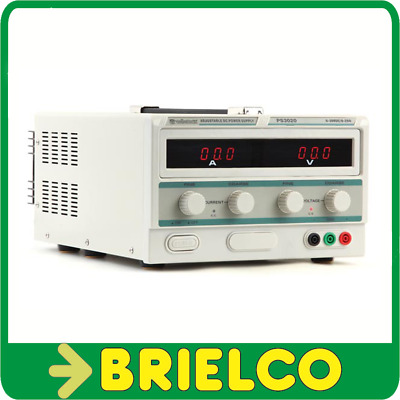 Fuente Alimentacion Laboratorio Regulable Display Digital 0-30V 0-20A Bd1729