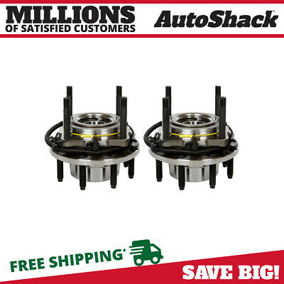 Front Pair (2) Wheel Hub Bearing Assembly Fits 05-10 Ford F-250 Super Duty w/ABS
