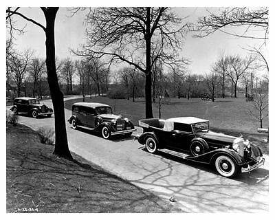 1934 1935 Packard 8 Funeral Hearse Flower Car Factory Photo ca0019