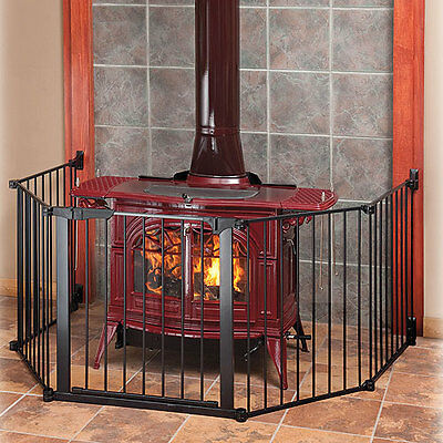 Kidco G3100 Auto Close HearthGate Hearth Gate Fire Place Child Baby Safety NEW