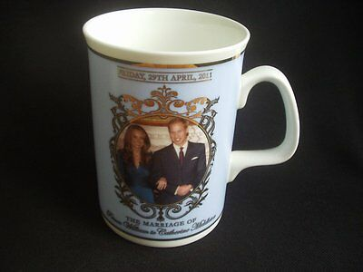 PRINCE WILLIAM & CATHERINE MIDDLETON ~WEDDING ~29 APRIL 2011 ~MAIL ON SUNDAY MUG