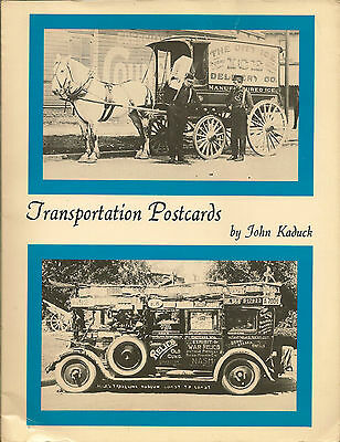 POSTCARDS : Transportation Postcards-KADUCK