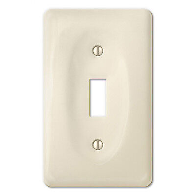 Biscuit Porcelain Switchplate Ceramic Wall Plate Outlet Light Switch Cover