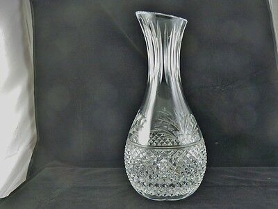 BEACONSFIELD type pattern CARAFE BY STUART GLASS CO