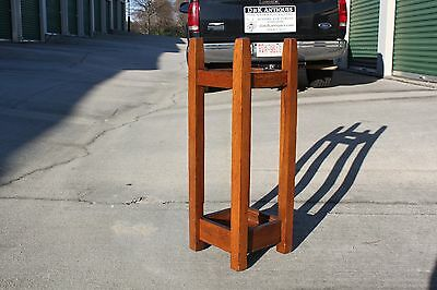 Gustav Stickley No. 54 Mission Oak Arts & Crafts Umbrella Stand