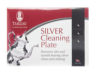 Tableau Silver Cleaning Plate - Suitable for Cleaning Gold, Silver and Pewter