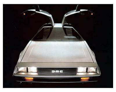 1981 DeLorean Automobile Photo Poster zc8860