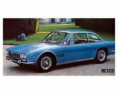 1970 Maserati Mexico Automobile Photo Poster zc8866