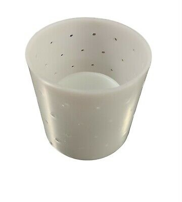 Cheese mould No.3 - Cylinder + base + follower 82 dia x 90mm ht