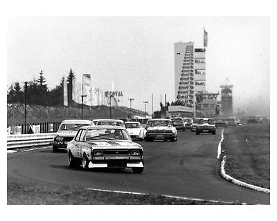 1972 Opel Commodore Nurburgring Race Car Photo Poster zc9384