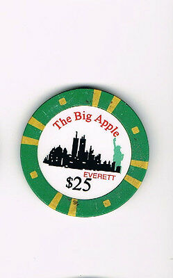 The Big Apple Everett $25 Casino Chip