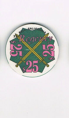 Regency - Bell, CA California $25 Casino Chip