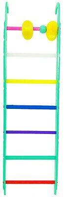 1496 GREEN BIRD TOY 8-INCH LADDER cockatiel parakeet finch toys canary cages pet