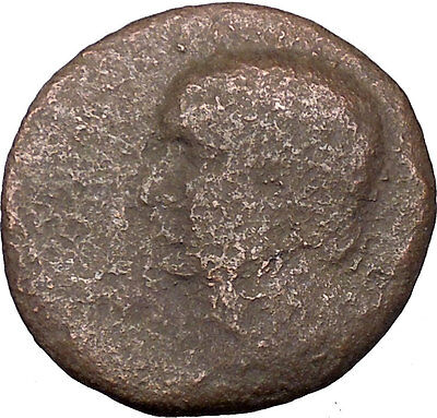 Vespasian 69AD  Macedonian mint Large Rare Ancient Roman Coin Shield  i36223