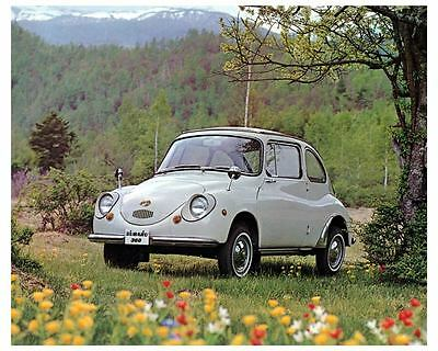 1968 1969 1970 Subaru 360 Microcar Photo Poster zc9687