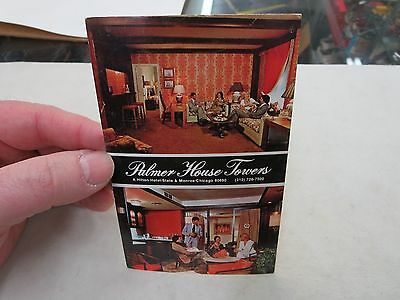 Palmer House Towers Hotel Vintage Postcard
