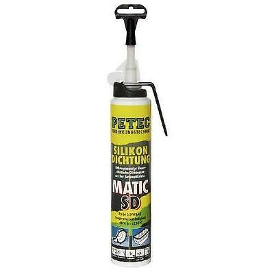 Pate a joint 200ml NOIR PETEC PROFESSIONNEL engin de chantier carter cache