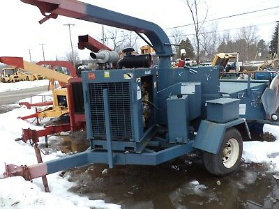 BRUSH BANDET 200 xp CHIPPER    DIESEL HDY FEED ONE  QWNER!!!!