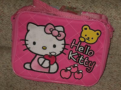 COOL!! HELLO KITTY PINK LUNCH TOTE LUNCH BOX SANRIO LICENSED BRAND NEW!!