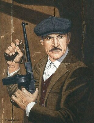 Sean Connery The Untouchables Art Print