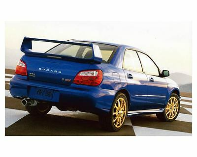 2004 Subaru Impreza WRX Sti Automobile Photo Poster zc9857