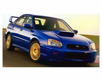 2004 Subaru Impreza WRX Sti Automobile Photo Poster zc9859