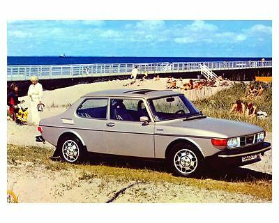 1975 Saab EMS Automobile Photo Poster zc9934