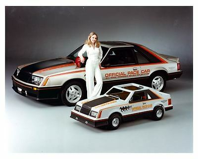 1979 Ford Mustang Indy 500 Pace Car & Children's Car Factory Photo ca0129