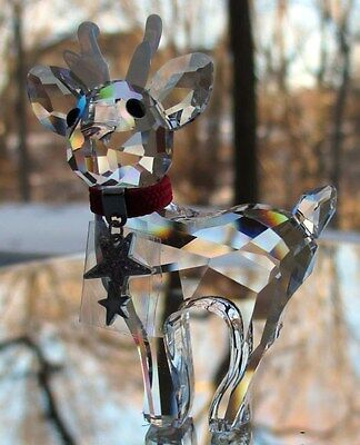 SWAROVSKI Crystal Christmas Baby Reindeer Figurine Mint & New in Box