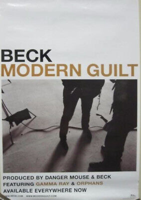 BECK 2008 modern guilt promotional poster ~NEW old stock MINT condition~!!