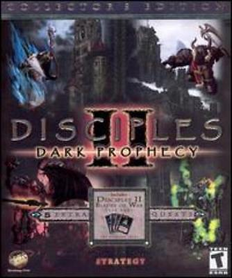 Disciples II 2 Dark Prophecy Collectors Edition PC CD lead opposing faction game