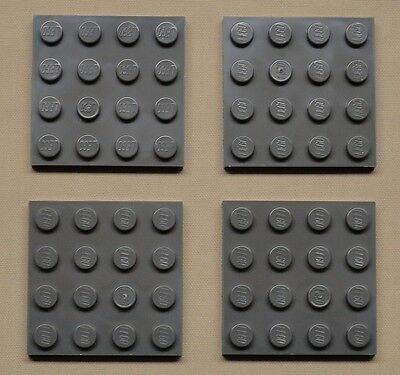 Plates 6x16 Dark Bluish Gray Plate Vehicle Base Plate building NEW Lego 4