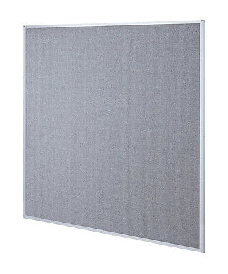 Office Cubicle Wall Divider Partition Standard Modular Panel Gray 6'H x 4'W