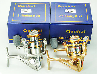 8BB ST2000A+6BB ST3000A Hight Speed 5.1:1Spinning Fishing Reel/moulinet de pêche