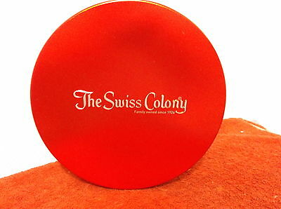"Vintage  "" The Swiss Colony Butter Toffee ""candy Tin....monroe, Wisconsin..."