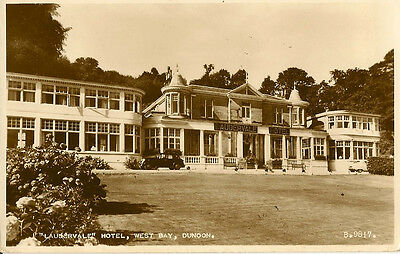 "DUNOON( Scotland) : ""Laudervale"" Hotel,West Bay RP-VALENTINE'S"