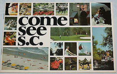 Come and See SC South Carolina Tourist Booklet Activities Tours Attractions