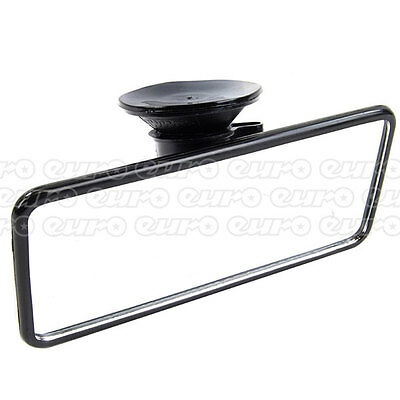 Summit RV30 Flat Interior Mirror Rear View Suction Cup Fit Driving Glass