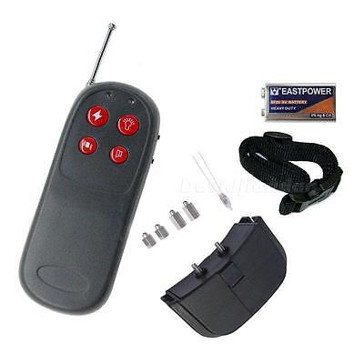 New 4in1 Remote Small Med Dog Training DJNG Shock Vibrate Collar Pet Accessory