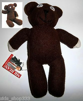 """~ Mr Bean TEDDY BEAR 9"""" Stuffed Plush Toy with tags Great Gift"""