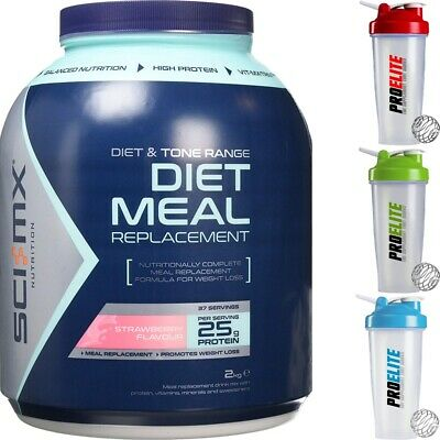 Sci-MX Nutrition DIET PRO™ MEAL Protein Strawberry Flavour 2kg+Free Shaker
